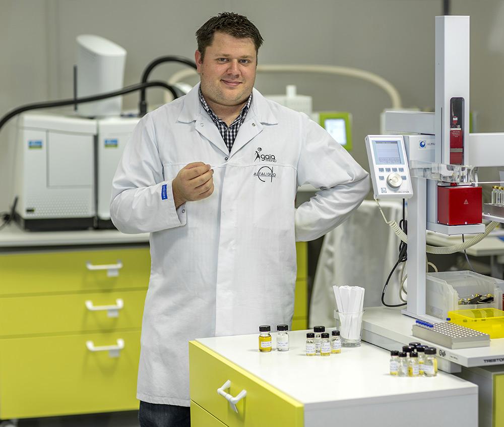 Xavier Martzel aromaticien Alfaliquid