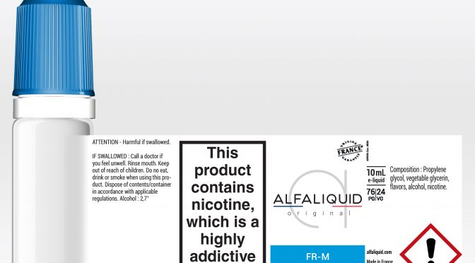 e-liquid in compliance with clp regulation